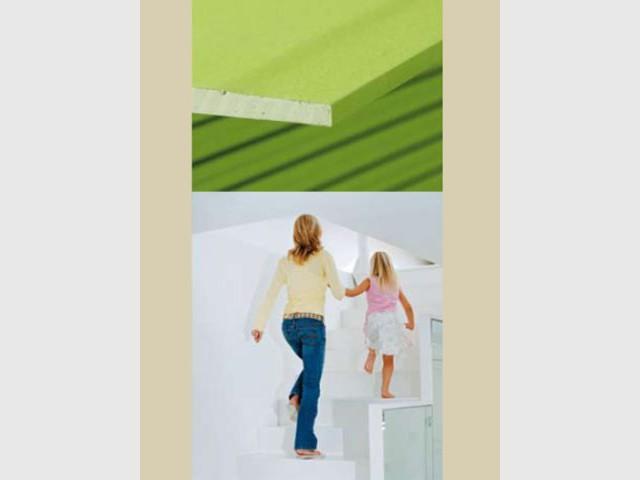 Prégyroc n'Green - Lafarge - Plaques de plâtre