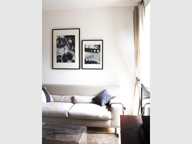 Salon - Appartement parisien hôtel
