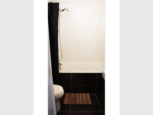 Salle de bain - Appartement parisien hôtel