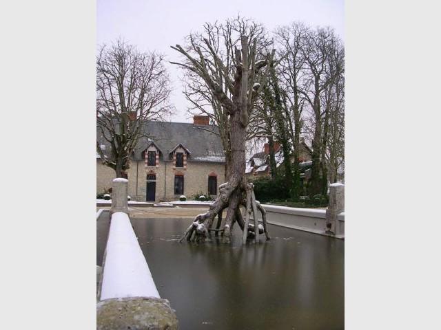 Domaine de Chaumont - Le pédiluve - Val de Loire