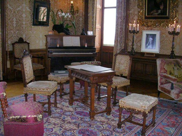 Domaine de Chaumont - Le mobilier - Val de Loire