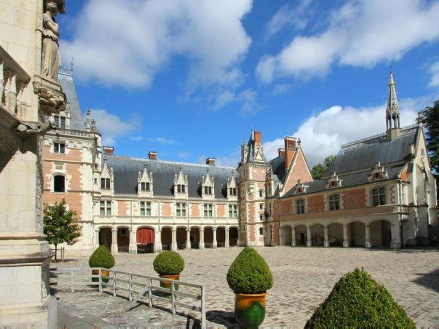 Château de Blois - l'aile Louis XII - Val de Loire