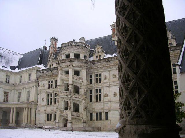 Château de Blois - l'aile François 1er - Val de Loire