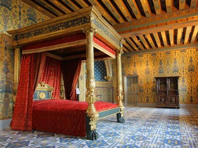 Château de Blois - Chambre du roi - Val de Loire