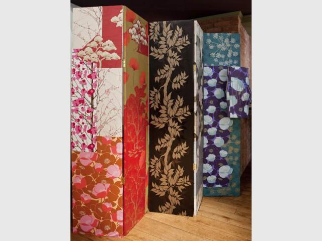 Ikebana - Tendance papier peint 2011