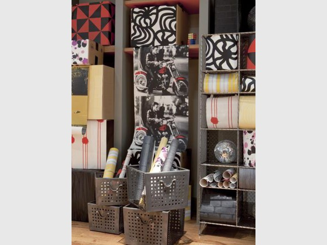 les tendances 2011 du papier peint du chic et de la couleur. Black Bedroom Furniture Sets. Home Design Ideas