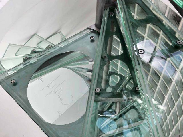 Détail escalier - Appartement Jean Paul Lubliner