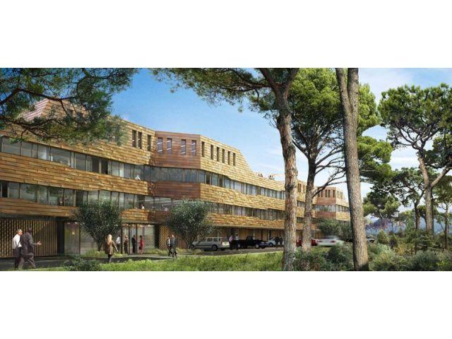 Bureaux et résidences étudiantes