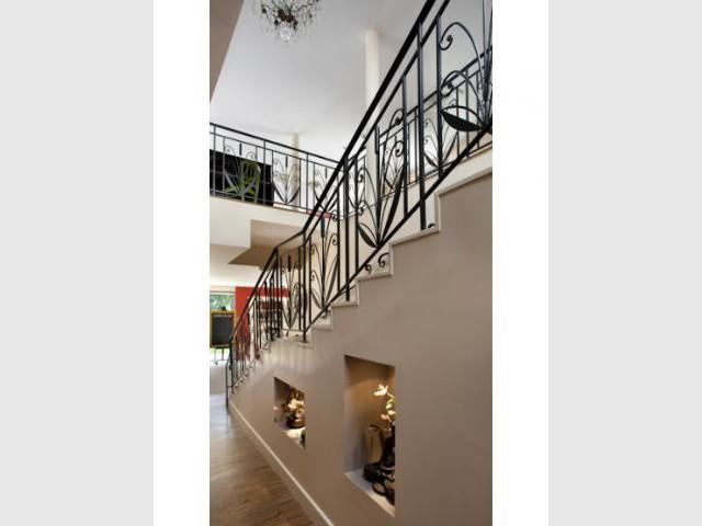 Escalier - Villa Beausoleil