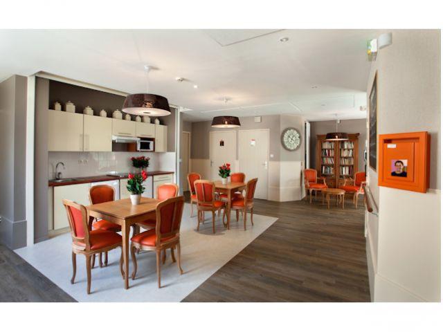 Salon de réception pour les familles - Villa Beausoleil