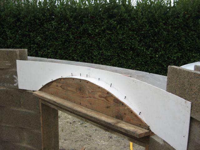3ème étape (suite) - Auto-construction terrasse