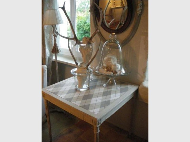 Résultat final - Relooking meubles anciens