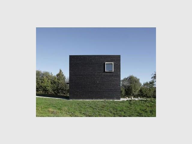 Epurée et design - cube noir