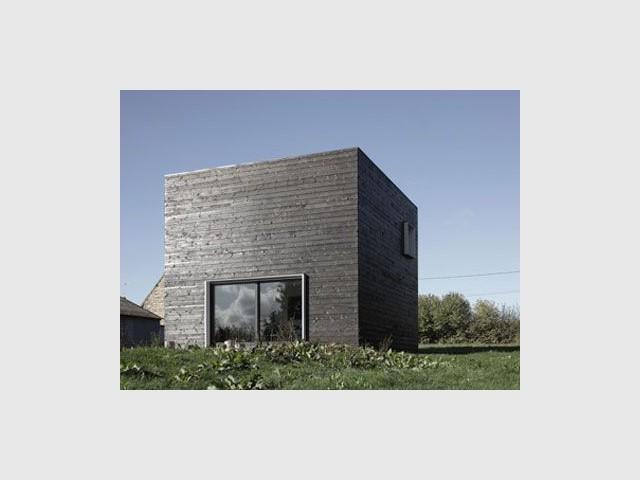 Une architecture originale - cube noir