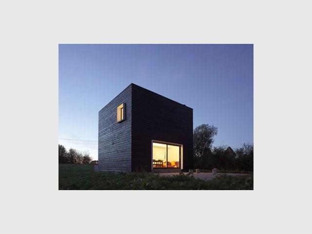 Cube de nuit - cube noir