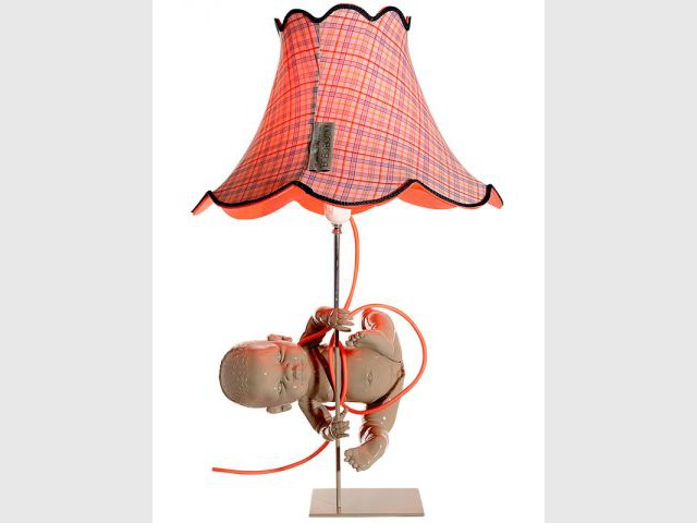 Lampe orange - Mitri Hourani