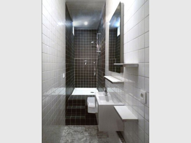 Best exemple salle de bains 3m2 contemporary design for Comment amenager une salle de bain de 3m2
