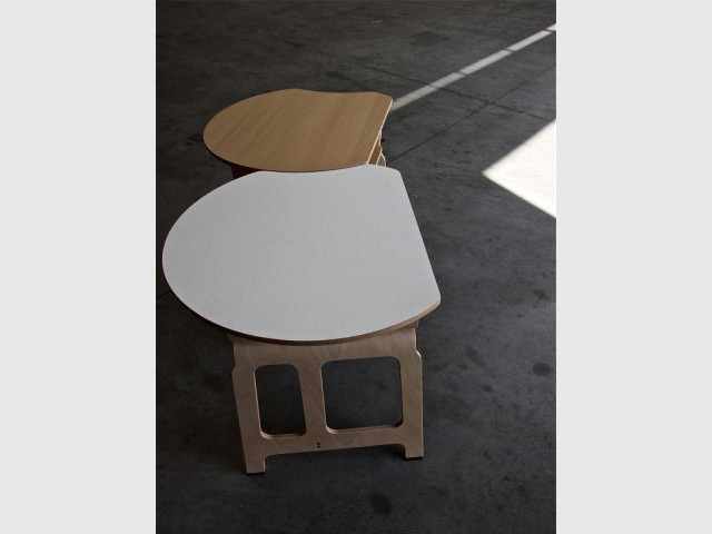 Table Milano - Jules Wabbes by Bulo