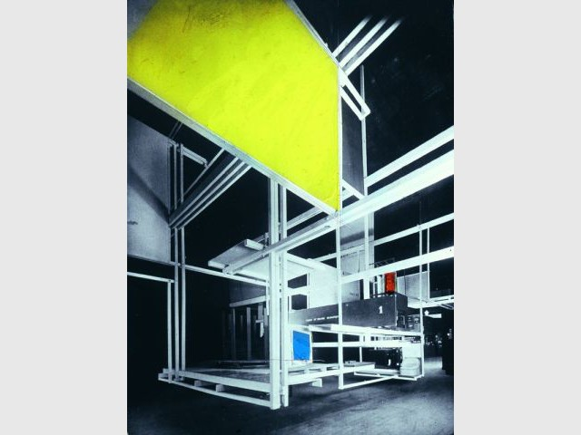 City in Space - Expo Mondrian