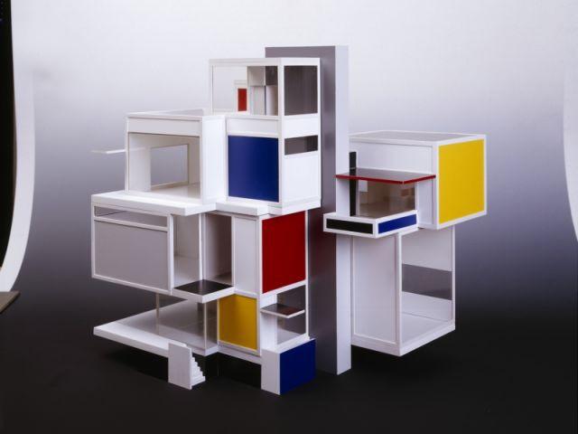 Maison d'artiste - Expo Mondrian