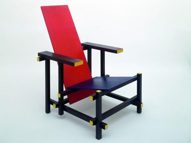 Chaise - Expo Mondrian