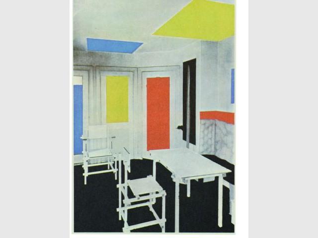 Intérieur - Expo Mondrian