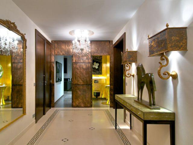 Galerie d'entrée - Appartement rue Hoche
