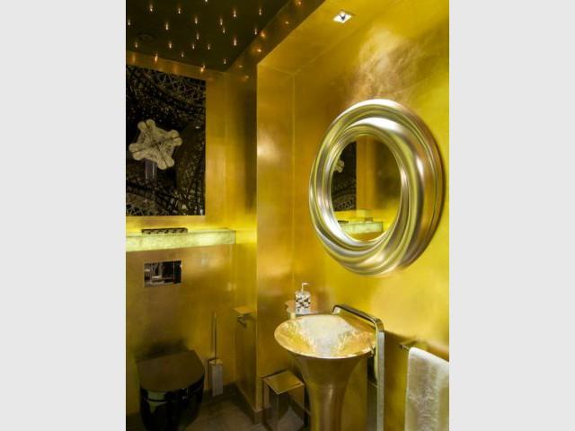 "Toilettes ""invités"" - Appartement rue Hoche"