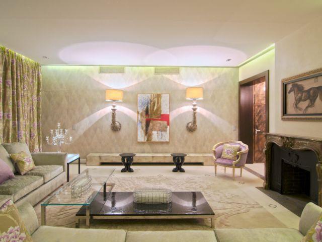 Salon - Appartement rue Hoche