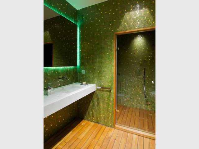 Suite Master - Salle de bains Homme - Appartement rue Hoche