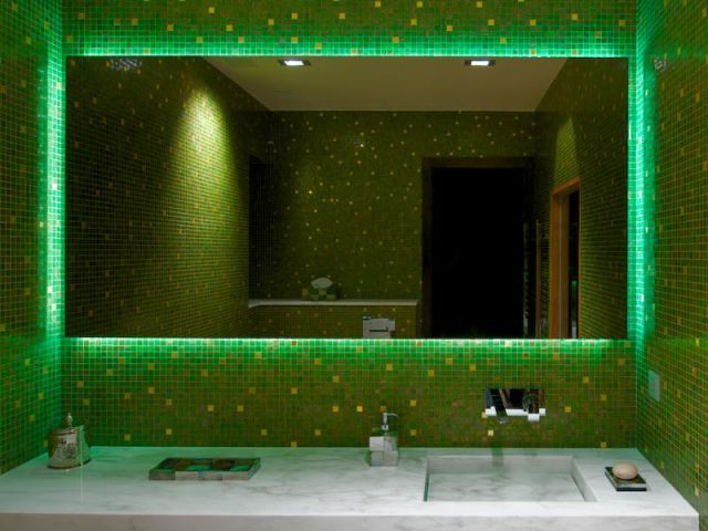 Détail Miroir - Appartement rue Hoche