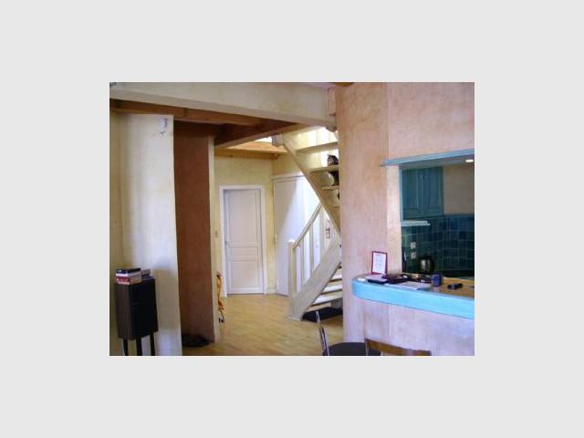 Niveau inférieur avant travaux - Loft Montpellier