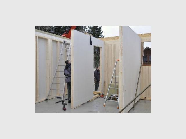 Création des espaces - Chantier Bois&Futur