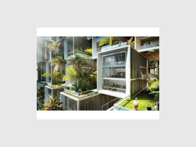 Détail jardins - Coral reef