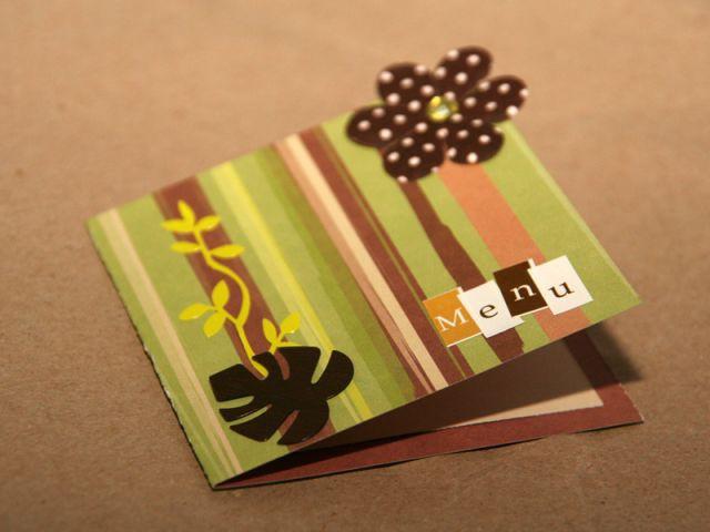 Fabrication d'un menu - Etape 2 - Les ateliers de Mireia