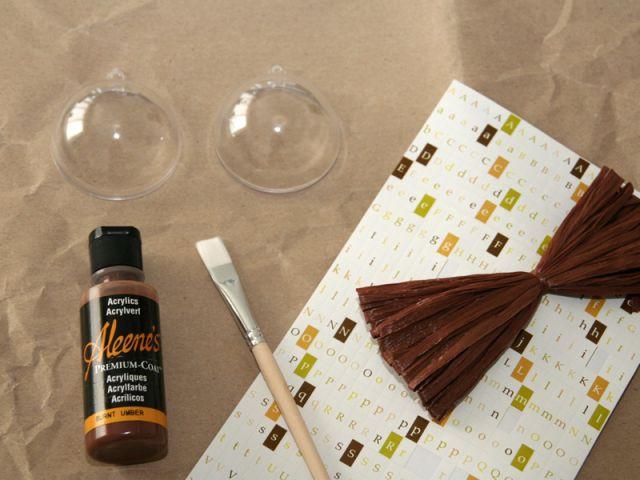Fabrication d'un marque-place - Le matériel nécessaire - Les ateliers de Mireia