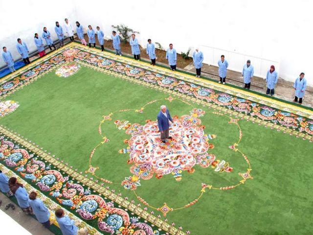 le plus grand tapis du monde