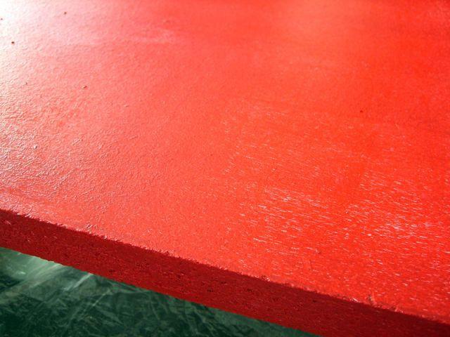 La peinture rouge - 1ère couche - Les ateliers de Mireia