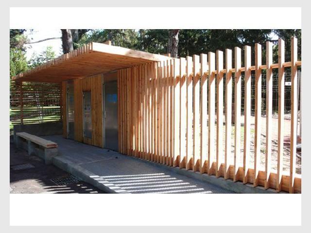 Sanitaires publics du Parc de la Tête d'Or à Lyon