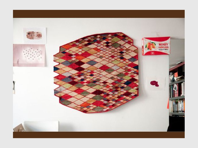Tapis Losanges 2011 - Expo Bouroullec