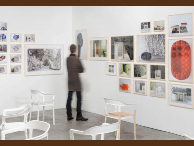 Salle de l'exposition - Expo Bouroullec
