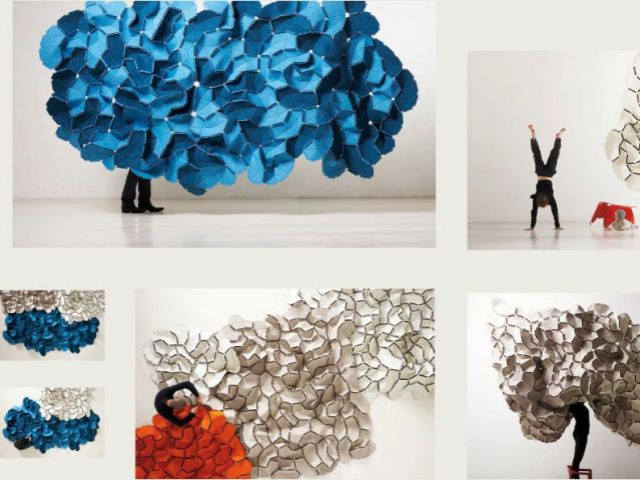 Tissus Clouds 2008 - Expo Bouroullec