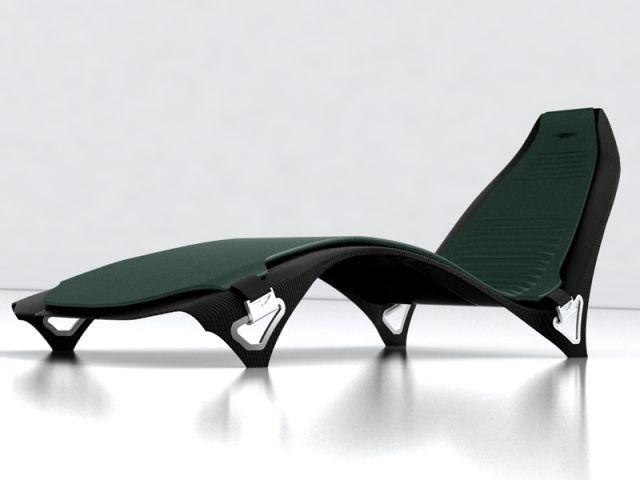 Chaise longue - Mobilier Aston Martin