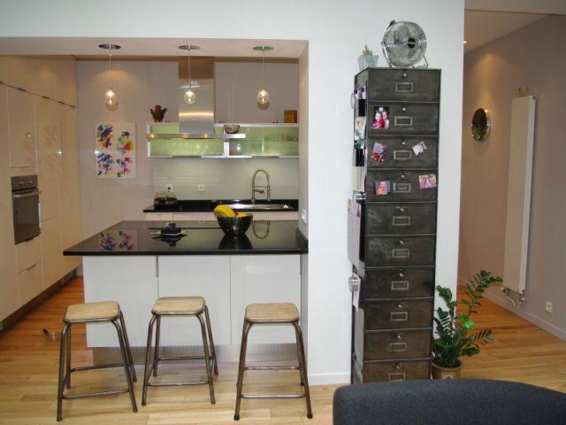 Cuisine après 1/2 - Appartement Montmartre