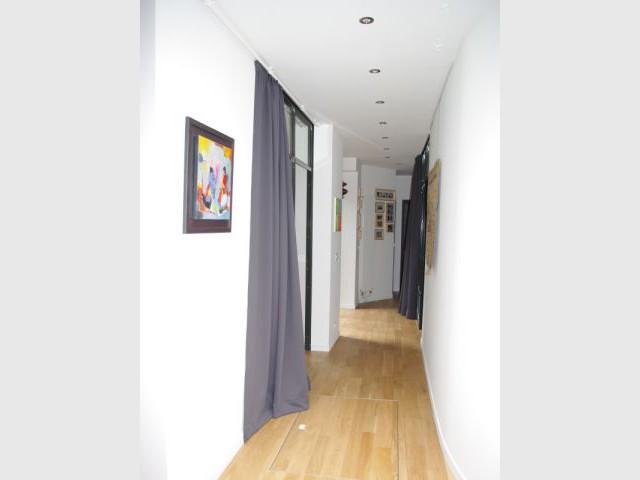 Un bien atypique remis en lumière (suite) - Appartement Montmartre