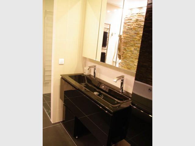 Sdb après 1/2 - Appartement Montmartre