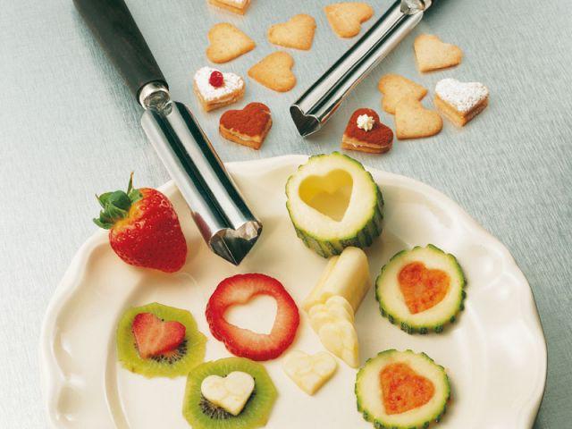 Des assiettes dignes d 39 un grand restaurant for Decoupe fruit decoration