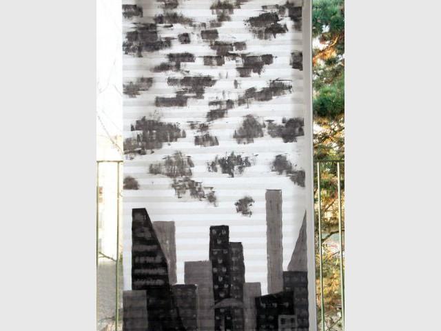 Peinture au rouleau - Résultat - Les ateliers de Mireia