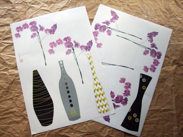Collage de stickers - Le matériel - Les Ateliers de Mireia