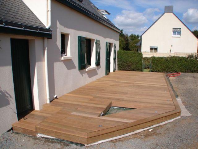 Etape 8 : les finitions - Montage terrasse bois